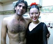 Ismael Fernandez(イスマエル フェルナンデス)とサラ アンダルーサ共演